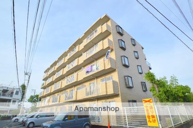 埼玉県さいたま市桜区、南与野駅徒歩25分の築24年 5階建の賃貸マンション