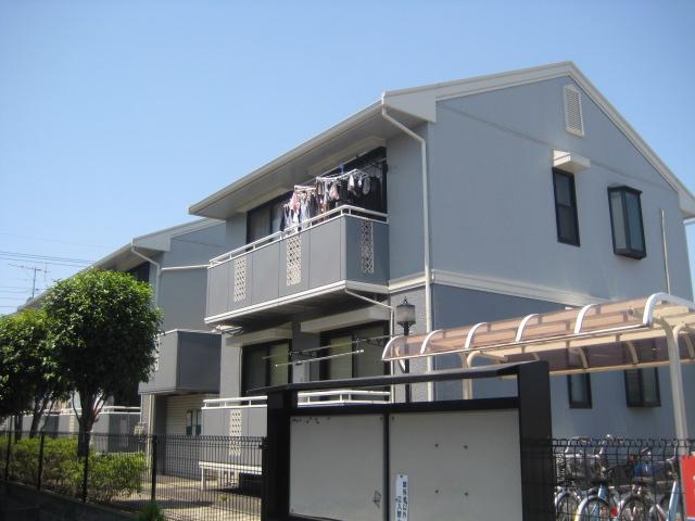 埼玉県さいたま市中央区、中浦和駅徒歩11分の築22年 2階建の賃貸アパート