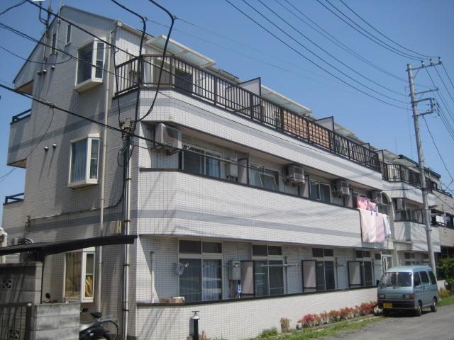 埼玉県さいたま市桜区、中浦和駅徒歩5分の築26年 3階建の賃貸マンション