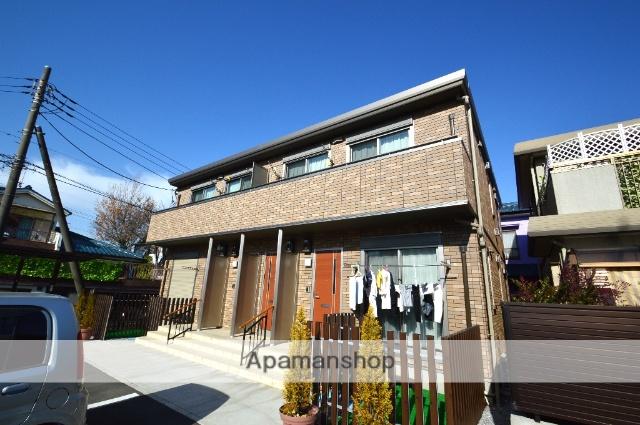 埼玉県越谷市、大袋駅徒歩18分の築3年 2階建の賃貸アパート