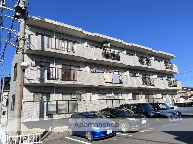 埼玉県越谷市、蒲生駅徒歩8分の築27年 3階建の賃貸マンション