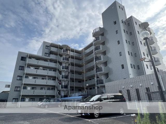 埼玉県三郷市、三郷駅徒歩4分の築23年 7階建の賃貸マンション