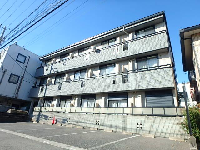 埼玉県越谷市、南越谷駅徒歩16分の築13年 3階建の賃貸アパート