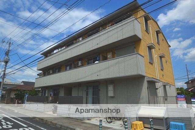 埼玉県越谷市、新越谷駅徒歩44分の築3年 3階建の賃貸アパート