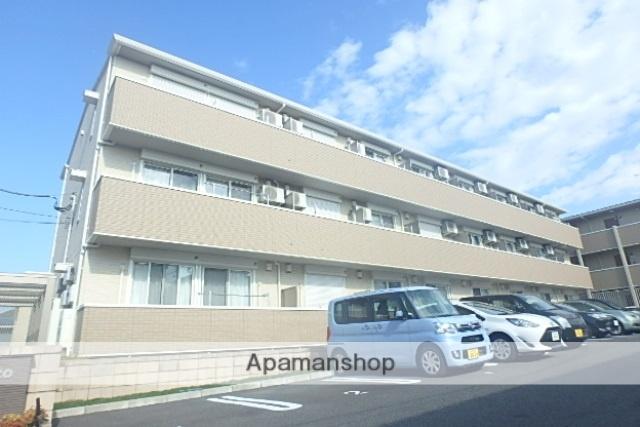 埼玉県越谷市、越谷駅徒歩13分の築2年 3階建の賃貸アパート