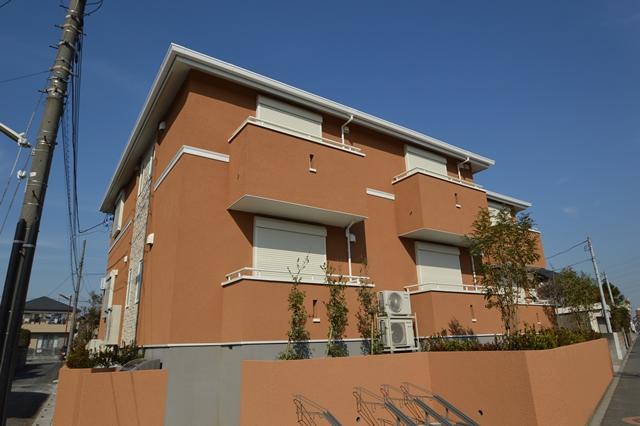 埼玉県越谷市、北越谷駅徒歩7分の新築 2階建の賃貸アパート