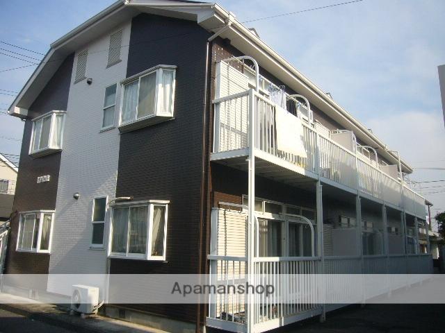 埼玉県越谷市、蒲生駅徒歩13分の築25年 2階建の賃貸アパート