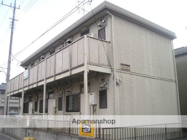 埼玉県越谷市、せんげん台駅徒歩6分の築25年 2階建の賃貸アパート