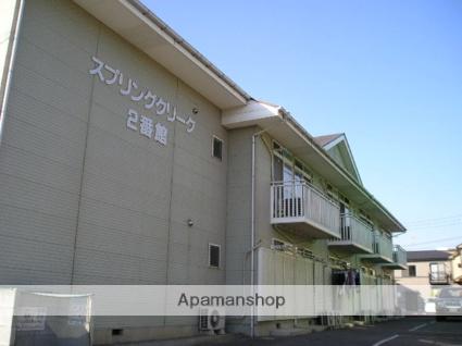 埼玉県越谷市、南越谷駅徒歩17分の築24年 2階建の賃貸アパート