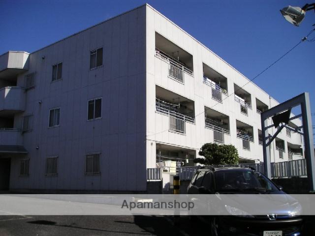 埼玉県越谷市、南越谷駅徒歩16分の築27年 3階建の賃貸マンション
