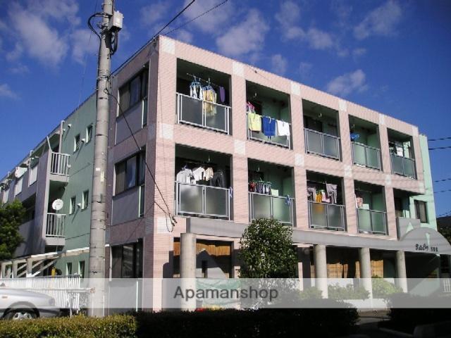 埼玉県越谷市、越谷駅徒歩8分の築28年 3階建の賃貸マンション