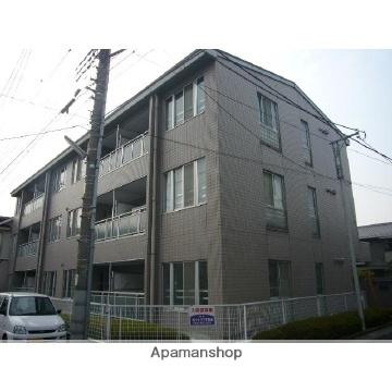 埼玉県越谷市、蒲生駅徒歩3分の築25年 3階建の賃貸マンション