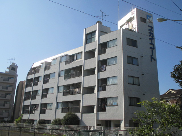 埼玉県蕨市、蕨駅徒歩19分の築27年 5階建の賃貸マンション