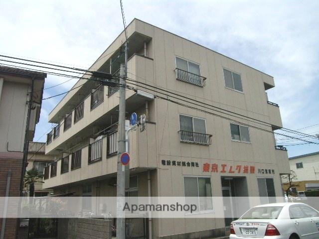 埼玉県川口市、蕨駅徒歩25分の築28年 3階建の賃貸マンション