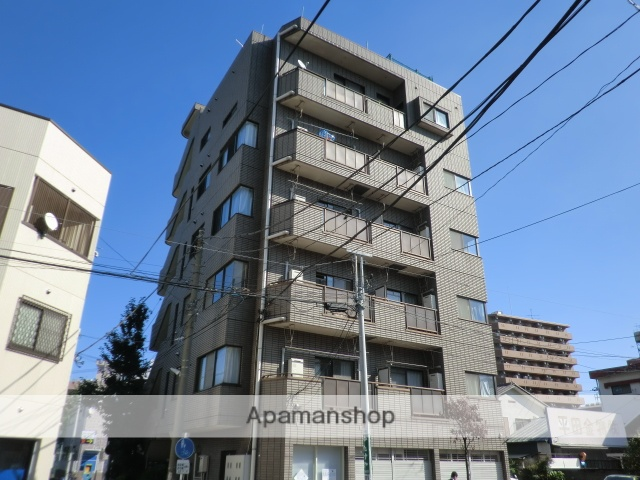 埼玉県蕨市、蕨駅徒歩16分の築27年 6階建の賃貸マンション