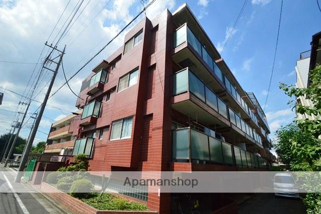 埼玉県蕨市、蕨駅徒歩15分の築37年 3階建の賃貸マンション