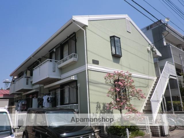 埼玉県川口市、蕨駅徒歩34分の築27年 2階建の賃貸アパート