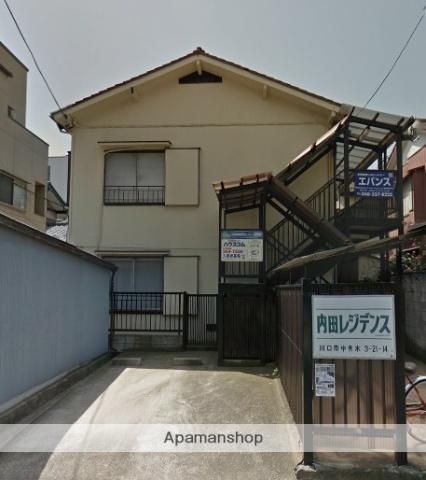 埼玉県川口市、西川口駅徒歩18分の築44年 2階建の賃貸アパート