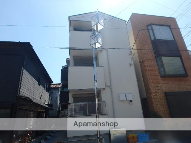 埼玉県蕨市、蕨駅徒歩20分の新築 3階建の賃貸アパート