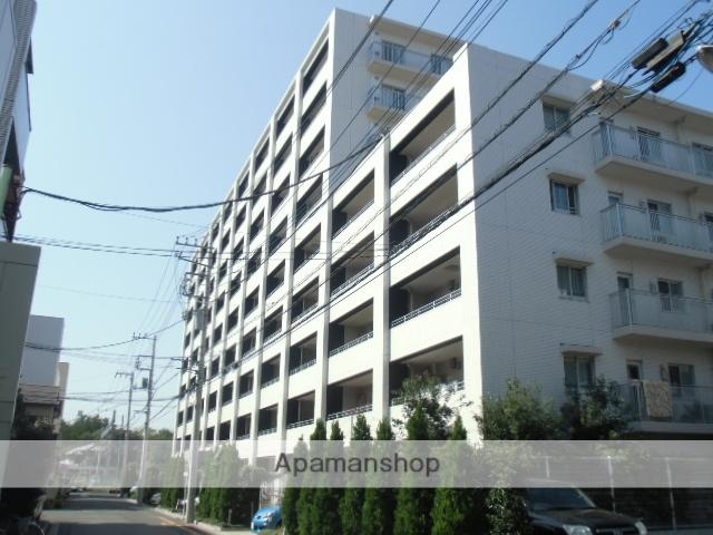 埼玉県蕨市、西川口駅徒歩7分の築7年 9階建の賃貸マンション