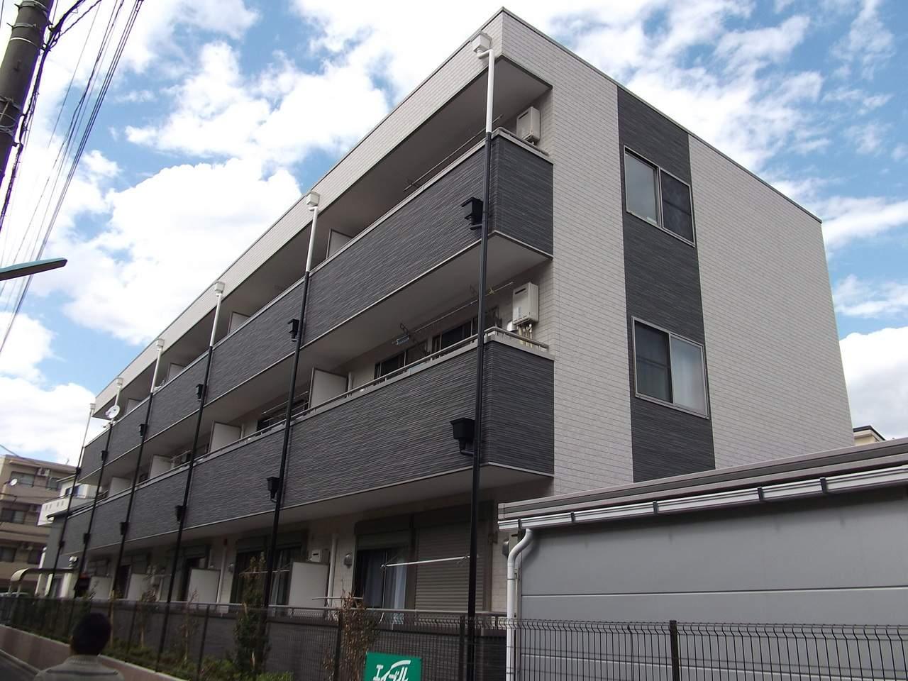 埼玉県蕨市、蕨駅徒歩17分の築7年 3階建の賃貸アパート