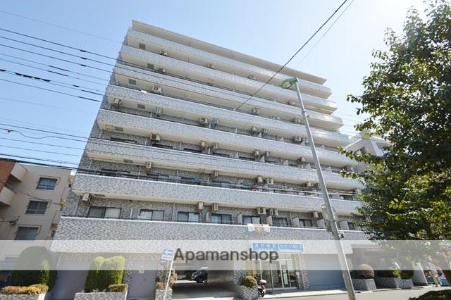 埼玉県川口市、蕨駅徒歩27分の築28年 9階建の賃貸マンション