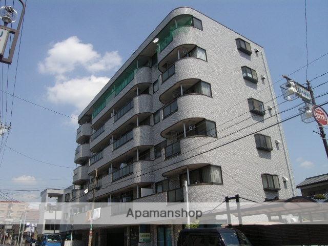 埼玉県戸田市、戸田公園駅徒歩19分の築23年 6階建の賃貸マンション
