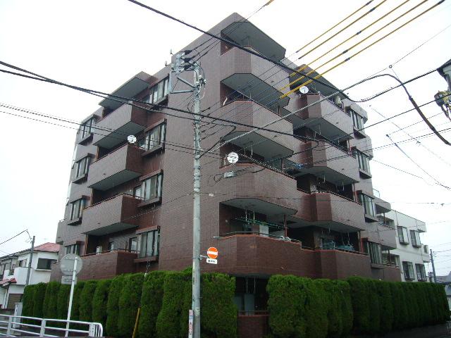 埼玉県蕨市、蕨駅徒歩21分の築30年 5階建の賃貸マンション