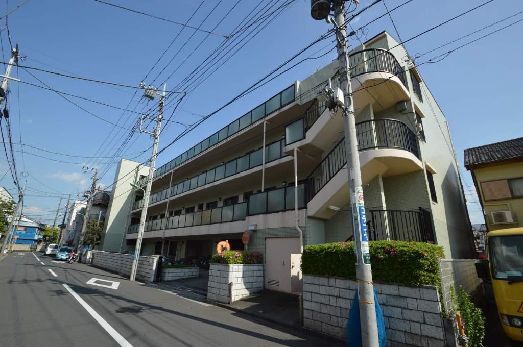 埼玉県川口市、西川口駅徒歩8分の築24年 4階建の賃貸マンション
