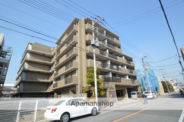 埼玉県川口市、蕨駅徒歩30分の築22年 6階建の賃貸マンション