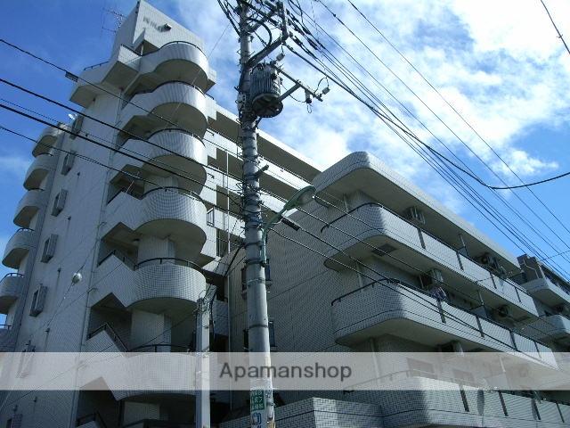 埼玉県川口市、蕨駅徒歩20分の築25年 8階建の賃貸マンション