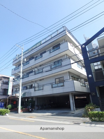 埼玉県川口市、西川口駅徒歩11分の築25年 4階建の賃貸マンション