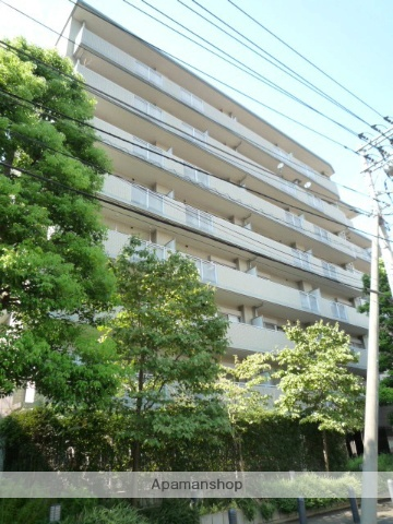 埼玉県川口市、西川口駅徒歩20分の築18年 8階建の賃貸マンション