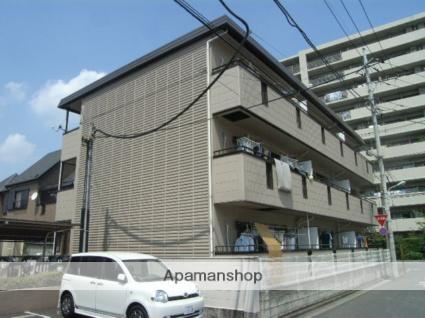 埼玉県川口市、蕨駅徒歩25分の築26年 3階建の賃貸マンション