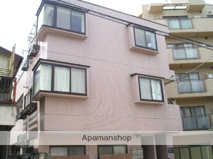 埼玉県川口市、鳩ヶ谷駅徒歩10分の築26年 3階建の賃貸マンション
