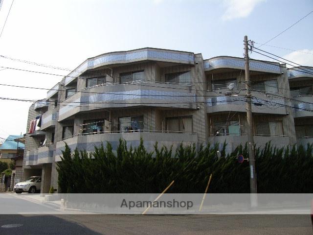 埼玉県蕨市、南浦和駅徒歩45分の築26年 3階建の賃貸マンション