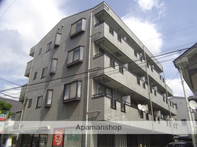 埼玉県川口市、蕨駅徒歩8分の築18年 4階建の賃貸マンション