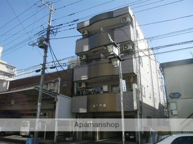 埼玉県戸田市、戸田公園駅徒歩23分の築24年 4階建の賃貸マンション
