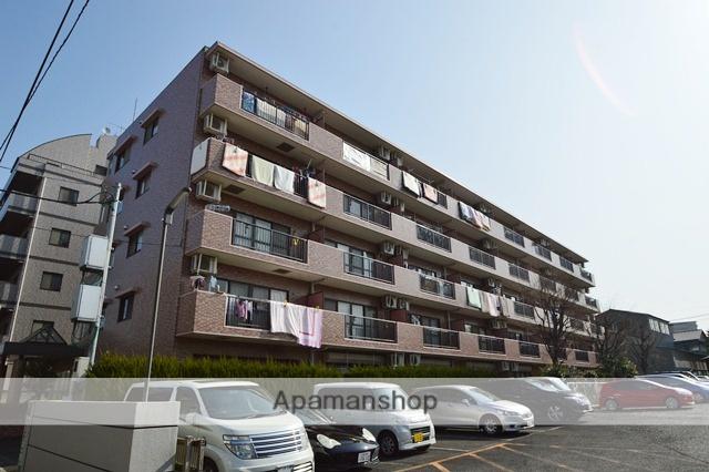 埼玉県戸田市、戸田公園駅徒歩18分の築23年 5階建の賃貸マンション