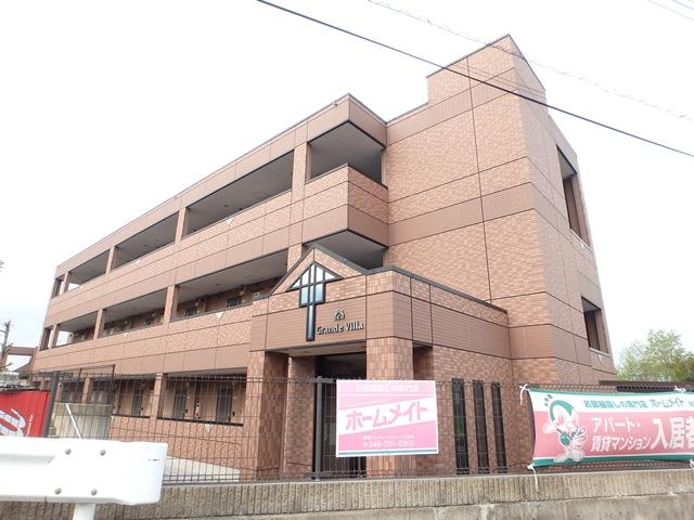 埼玉県川口市、東浦和駅バス8分バイパス入口停下車後徒歩4分の築12年 3階建の賃貸マンション