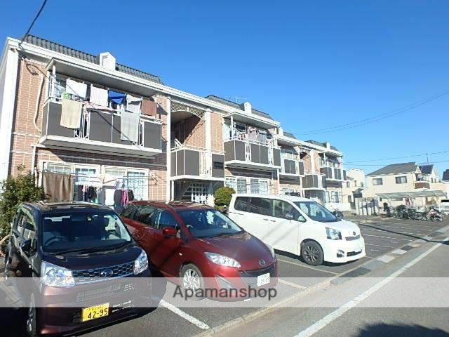 埼玉県川口市、新田駅徒歩37分の築23年 2階建の賃貸アパート