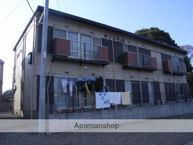 埼玉県川口市、東浦和駅バス10分西原バス停下車後徒歩7分の築32年 2階建の賃貸アパート