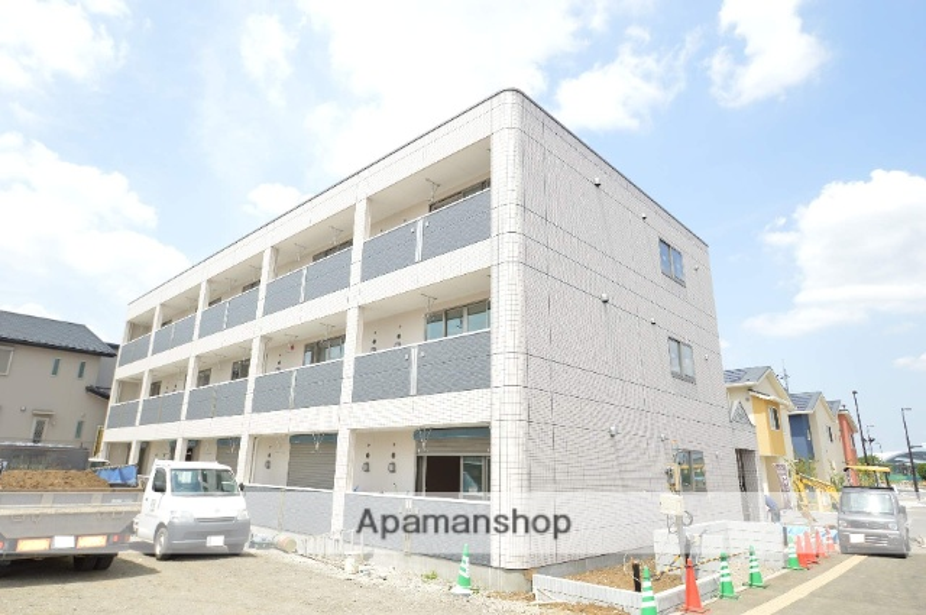 埼玉県さいたま市緑区、東川口駅徒歩29分の築3年 3階建の賃貸アパート