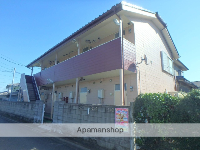 埼玉県さいたま市桜区、西浦和駅徒歩50分の築26年 2階建の賃貸アパート