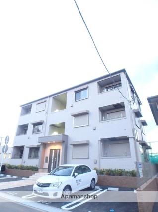 埼玉県さいたま市緑区、南浦和駅徒歩45分の築1年 3階建の賃貸アパート