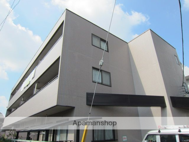 埼玉県さいたま市浦和区、さいたま新都心駅徒歩18分の築20年 3階建の賃貸マンション