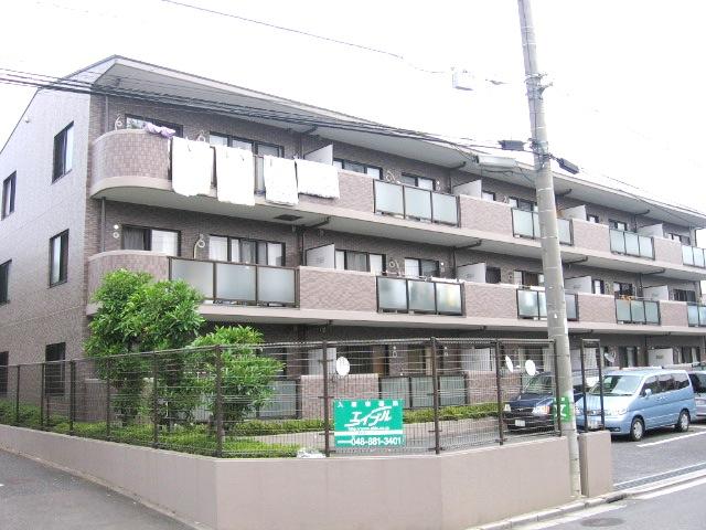 埼玉県さいたま市緑区、東浦和駅バス8分中丸南下車後徒歩1分の築20年 3階建の賃貸マンション