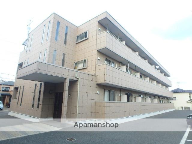埼玉県さいたま市緑区、東浦和駅バス9分宮本1丁目下車後徒歩3分の築10年 3階建の賃貸アパート
