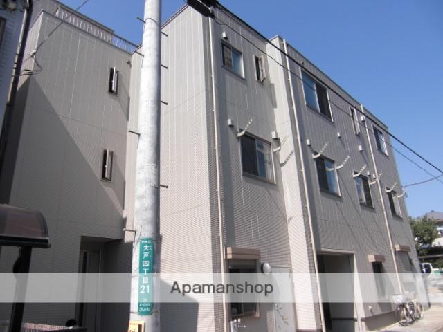 埼玉県さいたま市中央区、南与野駅徒歩16分の築7年 3階建の賃貸アパート