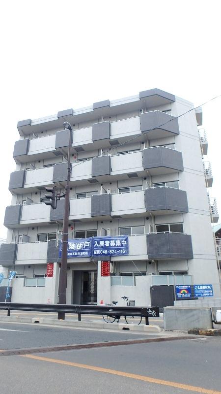 埼玉県さいたま市浦和区、浦和駅徒歩17分の築1年 5階建の賃貸マンション